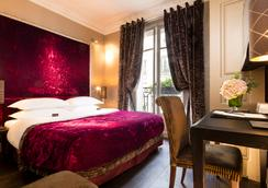 Hotel Ares Eiffel - Paris - Bedroom