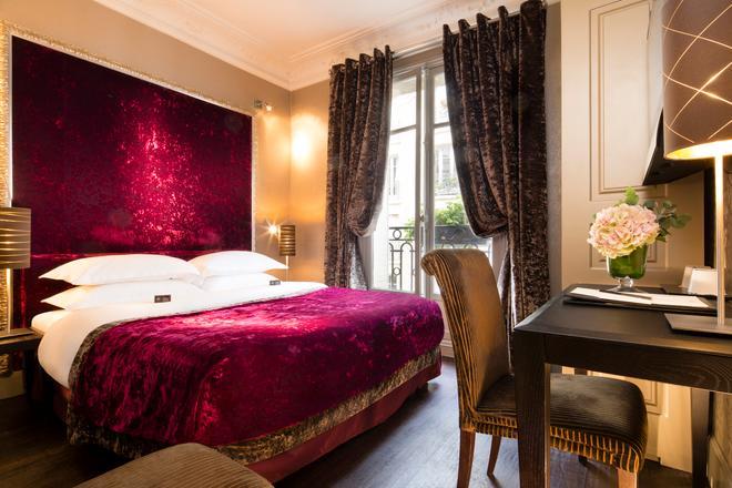 Hotel Ares Eiffel - Paris - Phòng ngủ