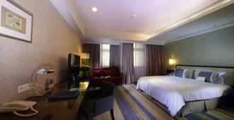 City Lake Hotel - טאיפיי - חדר שינה
