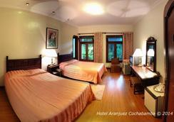 Hotel Aranjuez Cochabamba - Cochabamba - Bedroom
