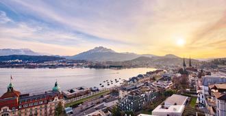 Art Deco Hotel Montana - Luzern - Außenansicht