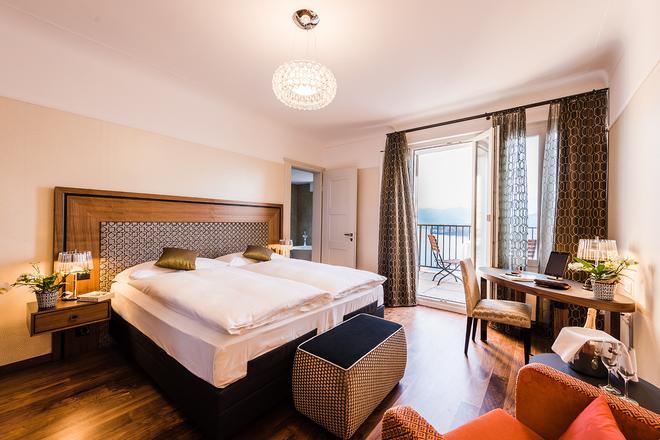 Art Deco Hotel Montana - Lucerne - Bedroom
