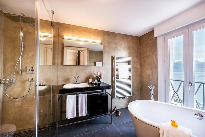 Art Deco Hotel Montana - Lucerne - Bathroom