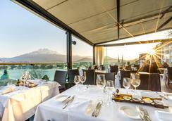 Penthouse by Art Deco Hotel Montana - Lucerna - Restaurante