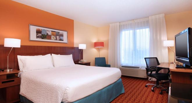 Fairfield Inn and Suites by Marriott Dallas Las Colinas - Irving - Makuuhuone