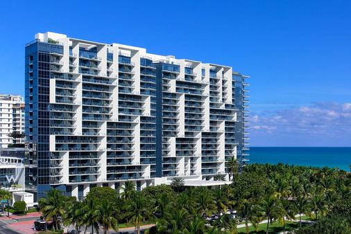 W South Beach - Miami Beach - Building
