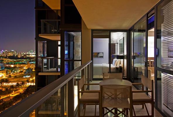 南海灘 W 酒店 - 邁阿密海灘 - 邁阿密海灘 - 陽台