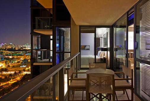 W South Beach - Miami Beach - Balcony