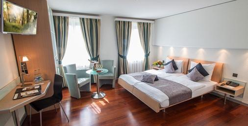 Hotel Krone Unterstrass - Zurigo - Camera da letto