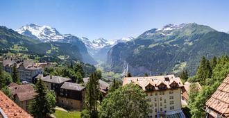 Hotel Belvedere - Lauterbrunnen - Θέα στην ύπαιθρο