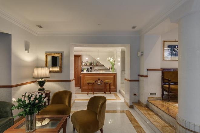 Hotel Borromeo - Rome - Hành lang