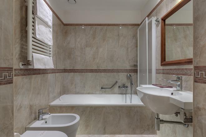 Hotel Borromeo - Rome - Phòng tắm