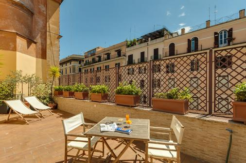Hotel Borromeo - Rom - Balkon
