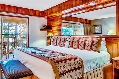 太浩湖畔滑雪飯店 - 南太浩湖 - 臥室