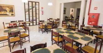 Hotel Plaza Poços de Caldas - פוקוס דה קלדס - מסעדה