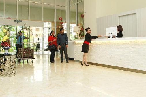 Mckey66 Seri Bukit Ceylon Residence - Kuala Lumpur - Front desk