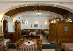Swiss Lodge Hotel Bernerhof Wengen - Lauterbrunnen - Εστιατόριο