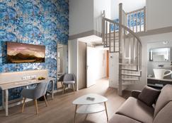 m3 Hôtel Ferney - Ferney-Voltaire - Sala de estar