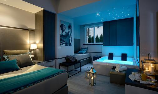 聖卡羅套房旅館 - 羅馬 - 羅馬 - 臥室