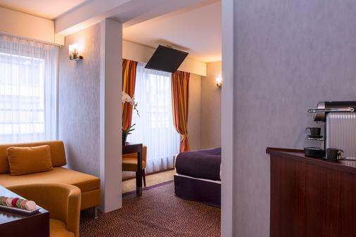安培酒店 - 巴黎 - 巴黎 - 客廳