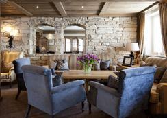 Hotel Der Berghof - Lech am Arlberg - Lobby
