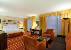 Azimut Hotel Olympic Moscow - Moskau - Schlafzimmer