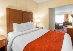 Comfort Suites - Vancouver - Phòng ngủ