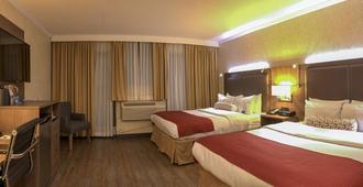 Gec Granville Suites Downtown - Vancouver - Makuuhuone