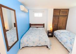 Hostal Parque Real Por Hotel Marovi - Santa Marta - Bedroom