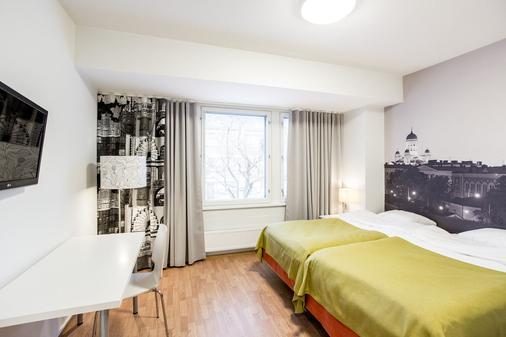 Forenom Aparthotel Helsinki Herttoniemi - Helsinki - Makuuhuone