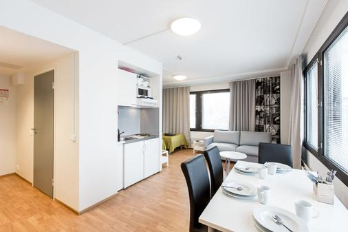 Forenom Aparthotel Helsinki Herttoniemi - Helsinki - Ruokailuhuone