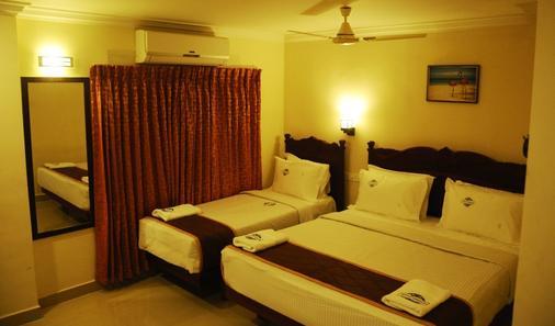 Hotel Ocean Heritage - Kanniyākumāri - Schlafzimmer