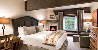 Stein Eriksen Lodge - פארק סיטי - חדר שינה