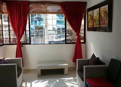 Apartamento Edificio El Lago, El Rodadero, Santa Marta - Santa Marta - Salon