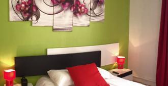 ホテル アルジャンス - トロワ - 寝室