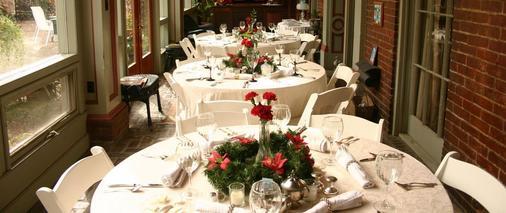 Corners Mansion Inn- A Bed & Breakfast - Vicksburg - Nhà hàng