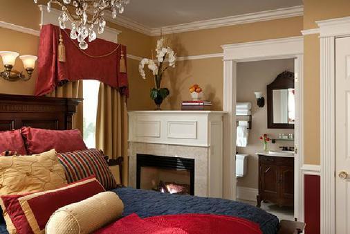 The Tower Cottage Luxury Inn - Поинт-Плезант-Бич - Спальня