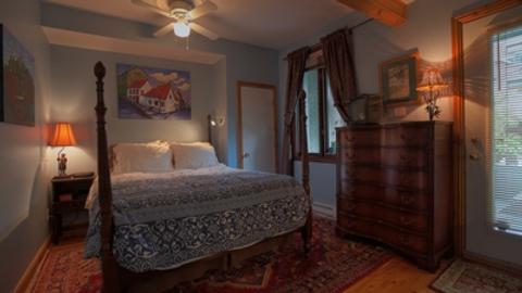 La Loggia Art B&B - Montreal - Bedroom