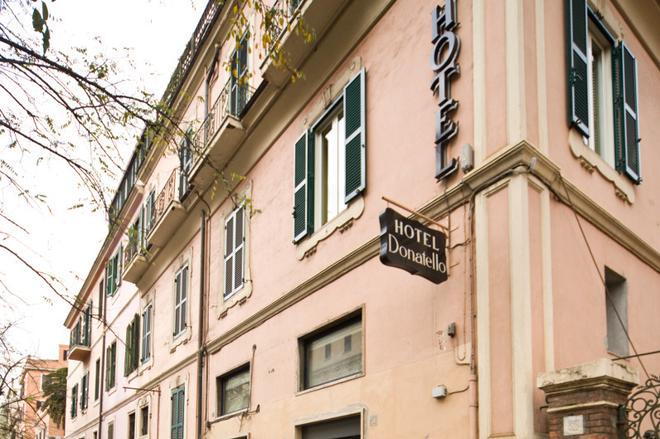 Hotel Donatello - Roma - Edificio