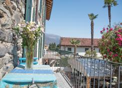 Hotel Antica Stallera - Cannobio - Varanda