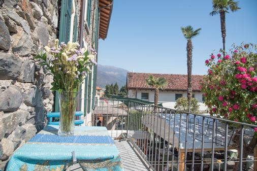 Hotel Antica Stallera - Cannobio - Balcony