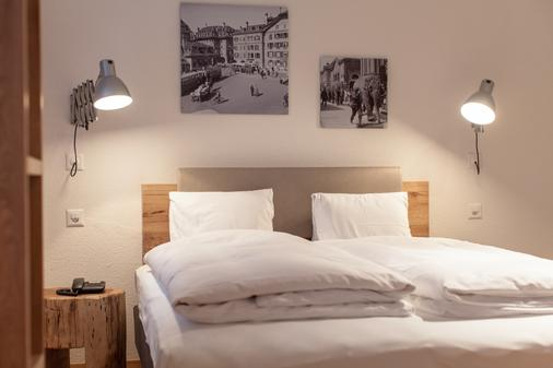 Hotel Alpenblick - Bern - Bedroom