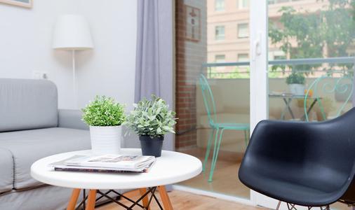 Rooms Ciencias - Valencia - Living room
