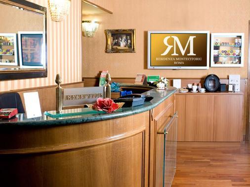 Residenza Montecitorio - Rome - Front desk