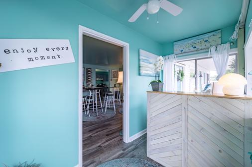 Ocean Glass Inn - Rehoboth Beach - Front desk