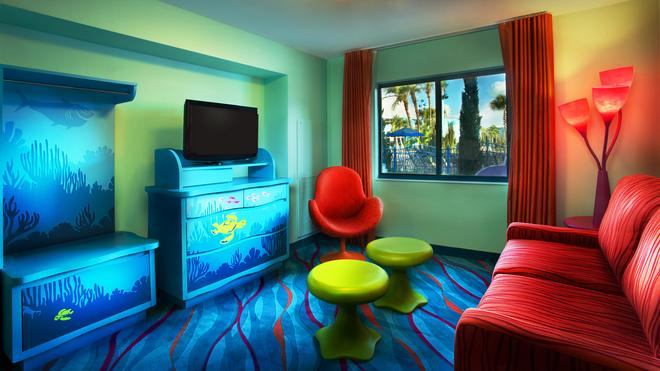 Disney's Art Of Animation Resort - Lake Buena Vista - Living room
