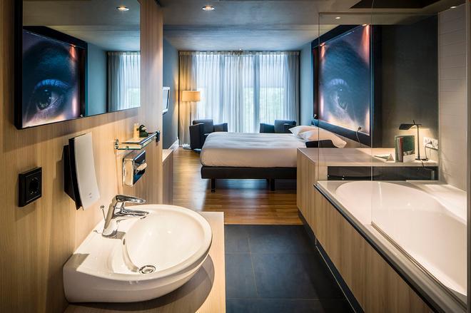 馬斯特里赫特 - 罕布希爾伊登設計酒店 - 馬斯垂克 - 馬斯特里赫特 - 浴室