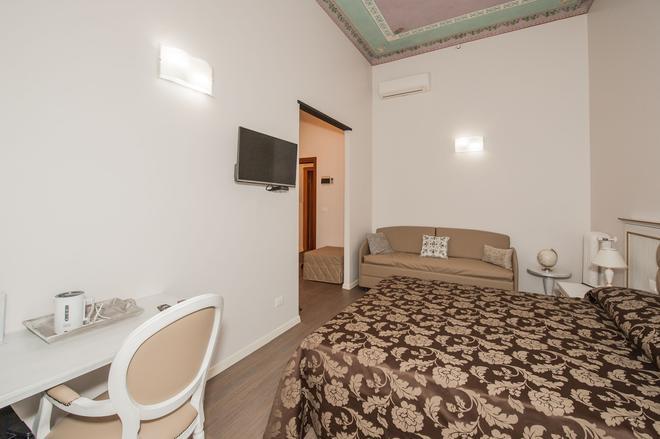 熱那亞自由酒店 - 熱那亞 - 臥室