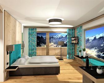 Hotel Tipotsch - Stumm - Спальня