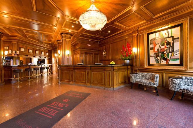 King's Hotel First Class - Munich - Front desk